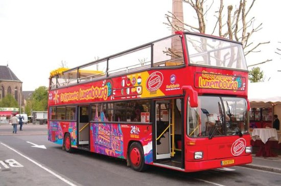 Luxembourg City Sightseeing Hop-On...