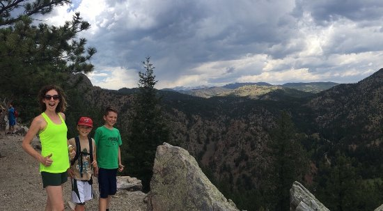 Eldorado Springs, CO: Sweet fellow hikers took this for us