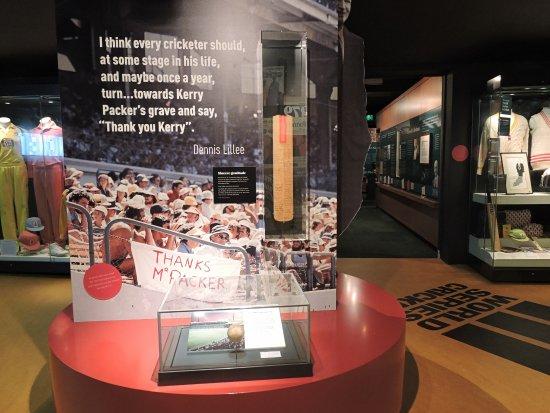 Bradman Museum & International Cricket Hall of Fame: World Series Cricket - Thank You Mr Packer