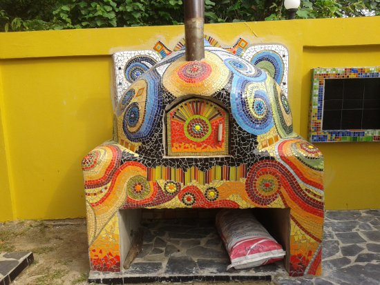 Blessed Koh Chang: pizza oven