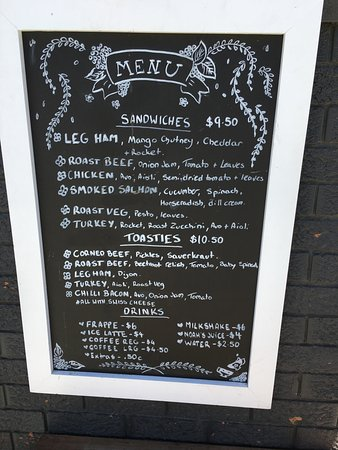 Food outlet menu - Picture of Dirty Janes Bowral, Bowral - TripAdvisor