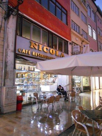 Cafe Restaurante Nicola Coimbra, Lda: カフェ ニコラ