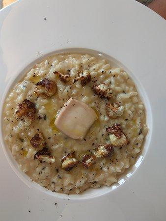 The Point Revolving Restaurant : Cauliflower risotto entre