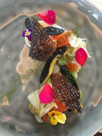 The Point Revolving Restaurant : Salmon entree