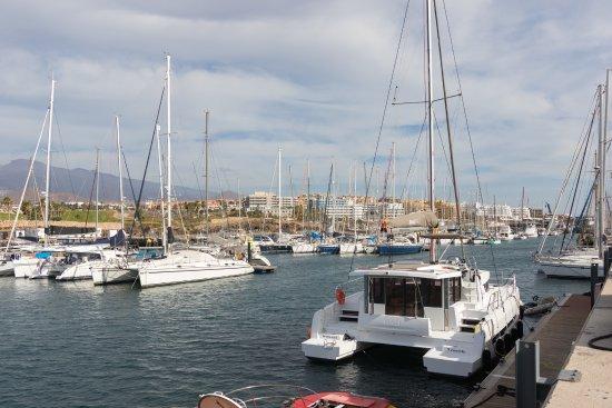 Amarilla Golf & Marina: Порт и яхты