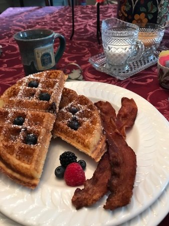 Martin Hill Inn: breakfast
