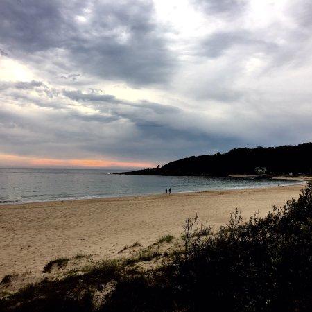 Kioloa, Australia: A minutea walk to the beach from our cabin