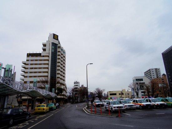 Fukushima Station Nishiguchi Ekimae Square