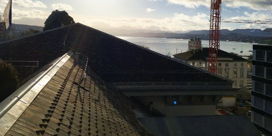 Baur au Lac: Fantastic view from room balcony