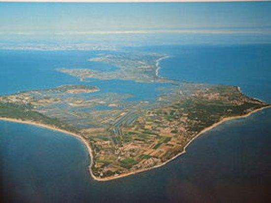 Ile de Re, França: Vue du ciel