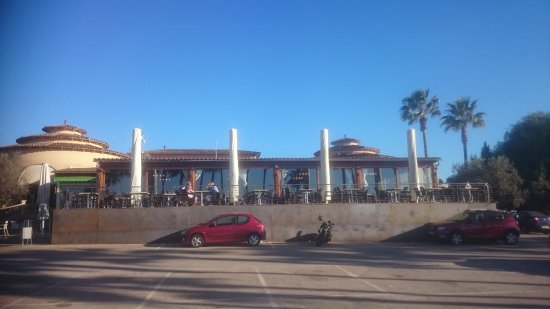 Balearerna, Spanien: Front of restaurant