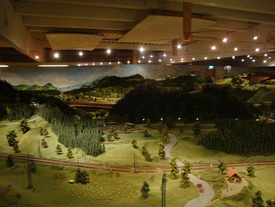 Hausach, Tyskland: Superbe maquette à l'échelle