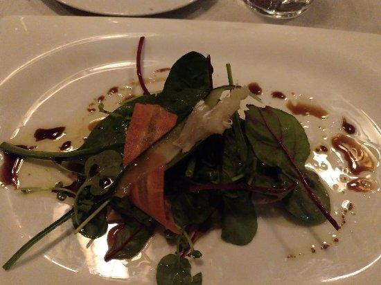 VINUM Restaurant & Wine Bar: Prato peixe bacalhau
