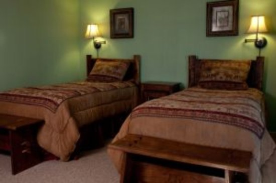 Fort Smith, Montana: Typical guest room