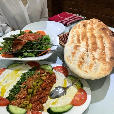 As good as Turkish cuisine and fresh grilled fish can fill every want and need you could possibl