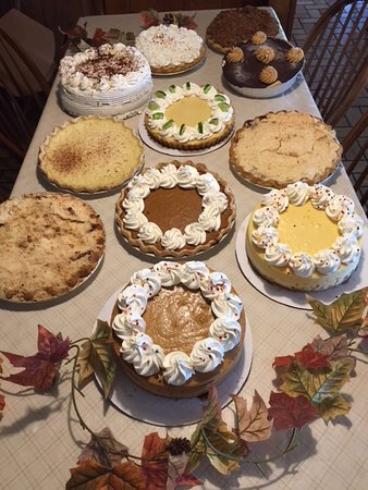 Cologne, NJ: Homemade Pies, cheesecake and cakes can be ordered for your special occasions