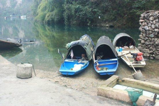 Wuyang River: Barques de pêcheurs