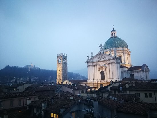 Vistas desde la cuarta planta - Bild von Hotel Vittoria, Brescia ...