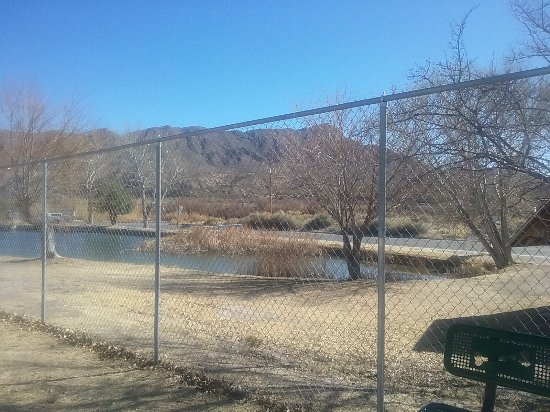 Truth or Consequences, NM: Dog Park has views of Turtleback Mts and River