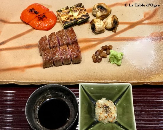 Dessert cuisson picture of teppanyaki ginza onodera - Table de cuisson japonaise teppanyaki ...