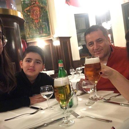 Lutter und Wegner: Ailece çok keyifli bir akşam geçirdik