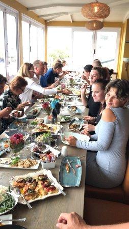 La Pentola Hermanus: Lunch time long table feast