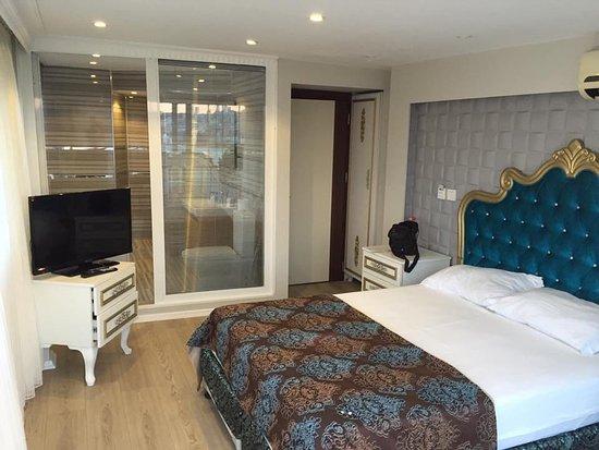 Grand Esen Hotel: Manzara super