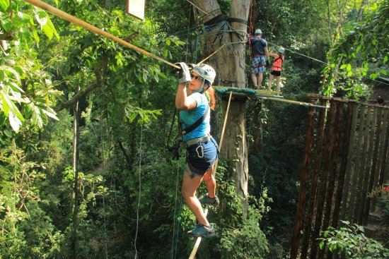 Extreme Zip Line Adventure: Enjoyed the most....