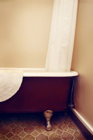 Balch Hotel: Many rooms and our shared baths have claw-foot tubs; perfect for soaking your cares away.