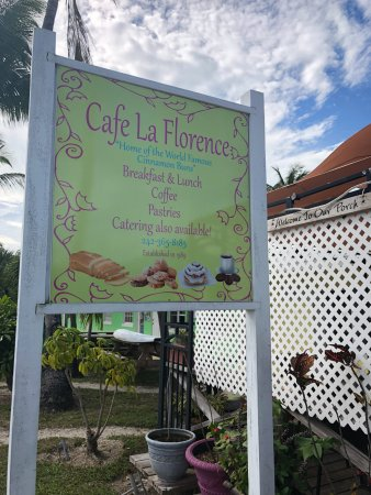 Cafe La Florence Treasure Cay