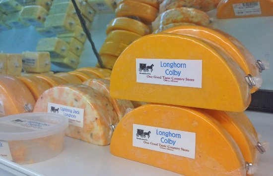 Odessa, Missouri: Longhorn Colby is the top seller every year.  Other Longhorn style cuts are available also!