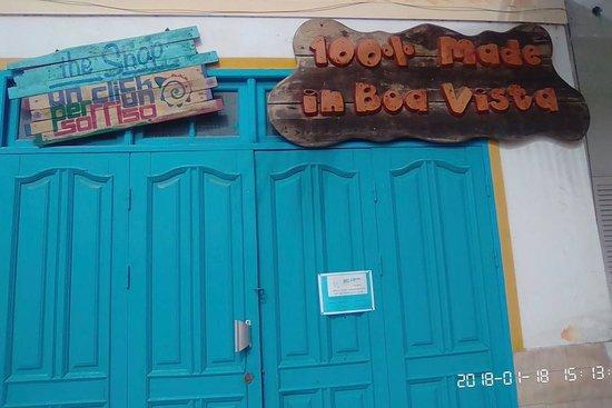 Sal Rei, Cape Verde: Our door