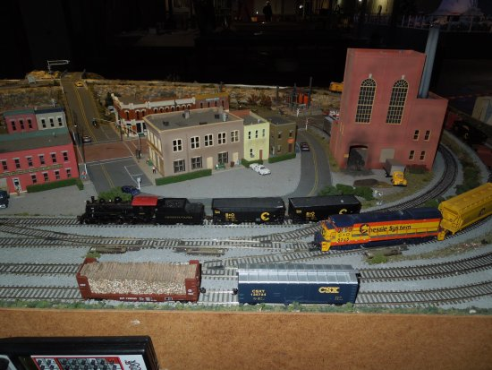 Taylors, Carolina del Sur: Logging HO Scale Display