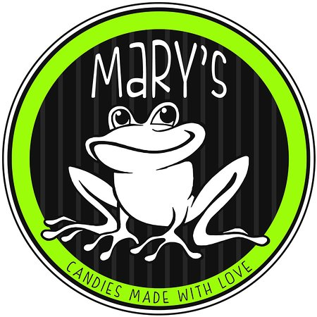 Dayton, WA: Mary's Lovable frog inspired by Mary her self.