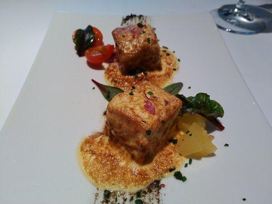 Restaurante Casa Zabala: Pastel de centollo