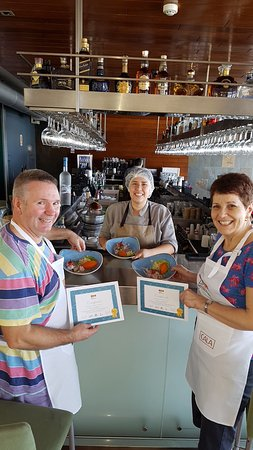Cala Restaurante: Our attempts at Peruvian Ceviche