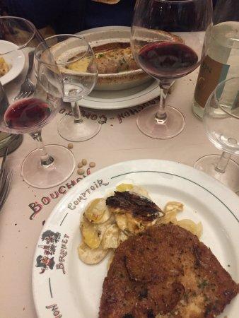 Restaurant bouchon comptoir brunet dans lyon avec cuisine fran aise - Comptoir de famille lyon ...