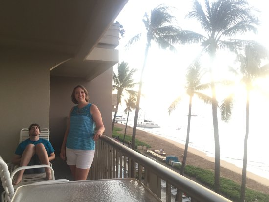 Aston at The Whaler on Kaanapali Beach: only part of lanai