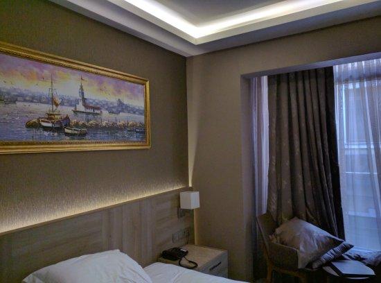 View from the restaurant ayramin hotel stanbul resmi for Ayramin hotel taksim