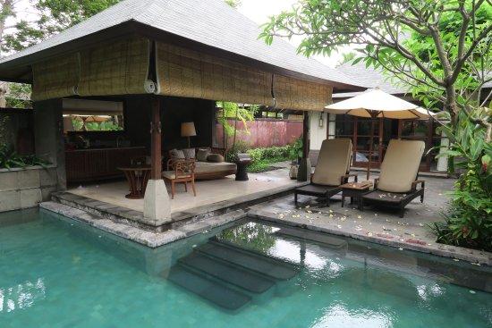 1 Bedroom Villa Lounge Picture Of Hilton Bali Resort Nusa Dua Tripadvisor