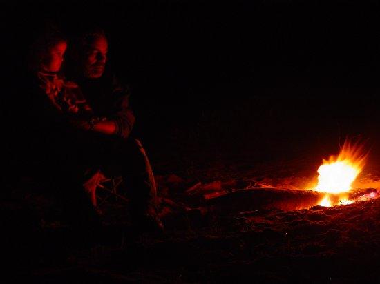 Lagoa dos Patos Sunset: Curtindo uma fogueira na beira da praia