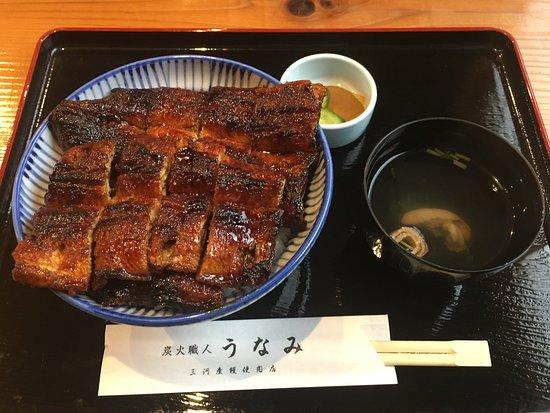 Unami: うな丼(特大うなぎ一匹)