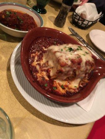 Delavan, WI: lasagna
