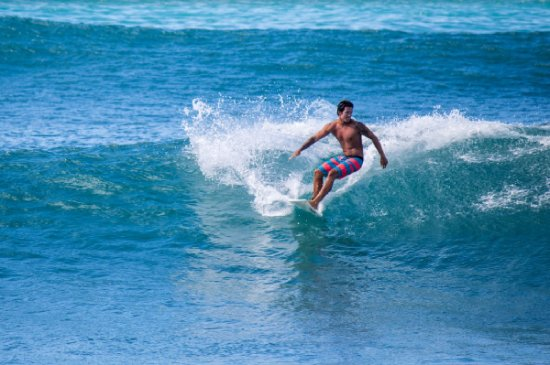 Honolulu, Hawaï: Surfing with a style