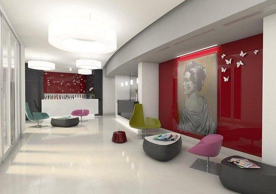 Hotel Cristina: Bar/Lounge