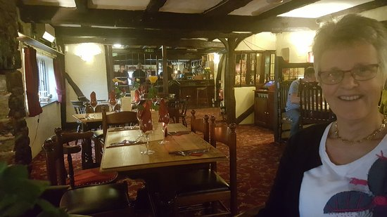 Fenny Bridges, UK: Almost the first in the dining room