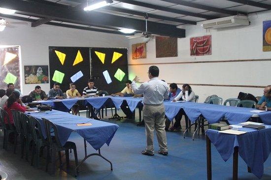 San Marcos, Nicarágua: Meeting room