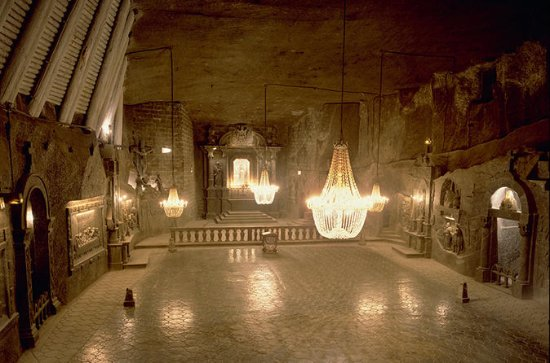 4-Hour Wieliczka Salt Mine Tour from...