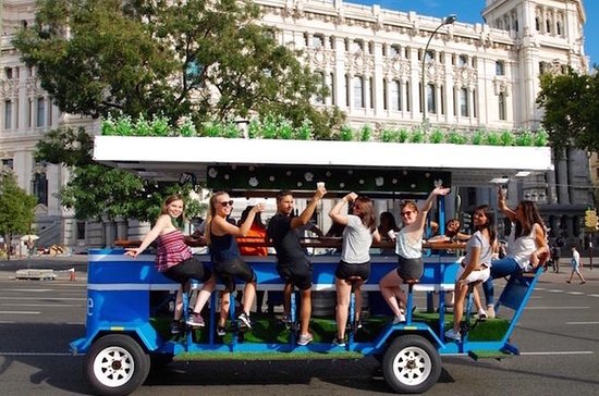 Beer Bike Tour in Madrid