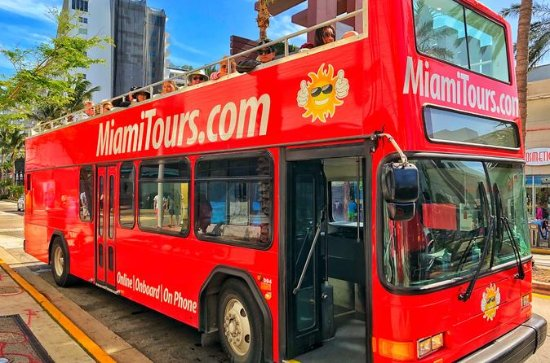 2-Day Miami Hop-On Hop-Off Tour with...